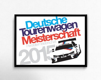 2015 BMW Commemorative Print