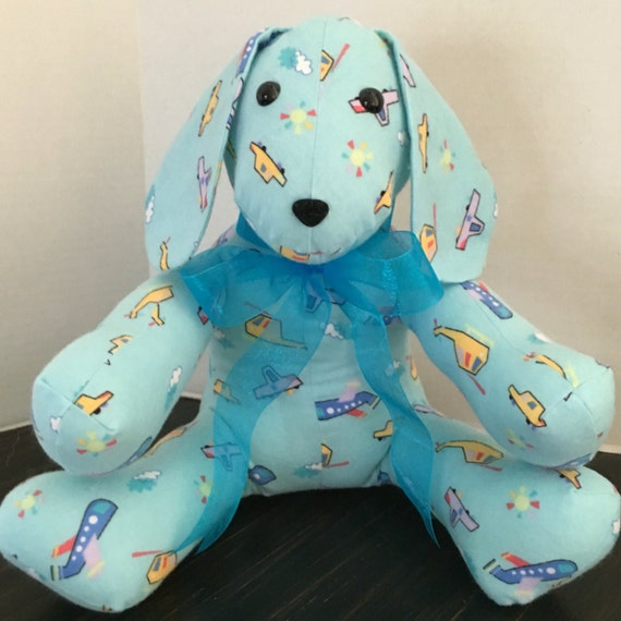 blue dog plush stuffed puppy dog toy cars airplanes. Black Bedroom Furniture Sets. Home Design Ideas
