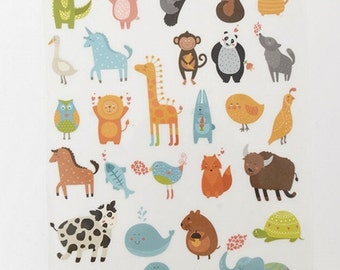29 different animals collection iron on transfer printing Heat-transfer printing fabric transfers