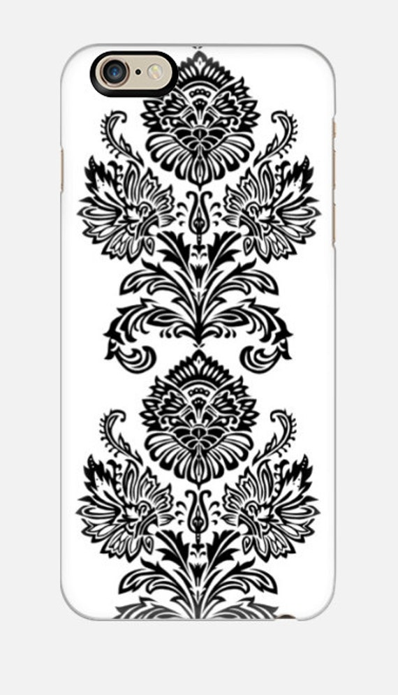 iPhone 6S Case, Damask iPhone 5C, Winter iPhone Case, iPhone 6 Plus Phone Case, cellcasebythatsnancy