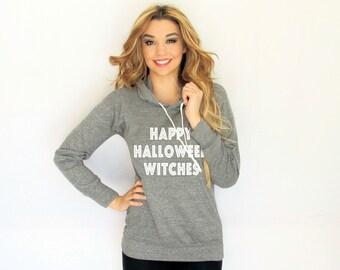 Happy Halloween Witches hoodie. Happy Halloween sweater . Made by ThinkElite1.