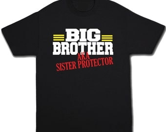 Big Brother Shirt - Big Brother Tshirt - Announcement Shirt - Sibling Shirt - Big Bro Shirt - Big Brother T Shirt - Baby Announcement