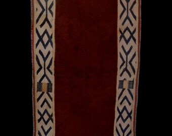 Kuba Cloth Ceremonial Over Skirt Raffia Textile Fabric Currency Bushoong African
