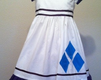 Rarity Inspired Costume Dress
