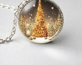 Christmas Tree Necklace, cheap night jewelry for women, fine tree of life, Merry christmas wish tree topper, beautiful costume prom jewelry