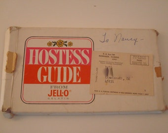 Hostess Guide From Jell-O Gelatin
