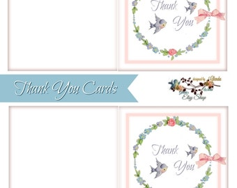 Thank You Card with matching Envelope