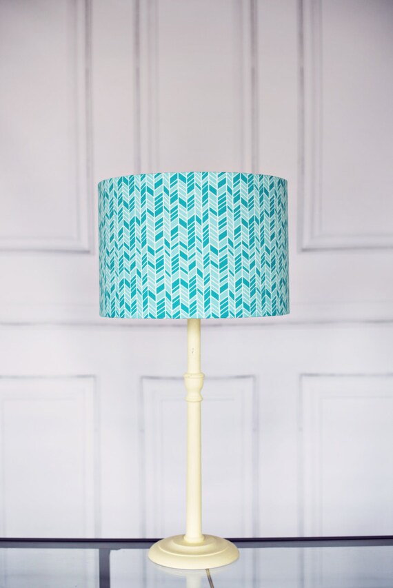 turquoise lampshade blue lamp shade teal lampshade drum lampshade. Black Bedroom Furniture Sets. Home Design Ideas