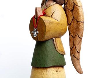 Wooden Guardian Angel (Cedar Wood)