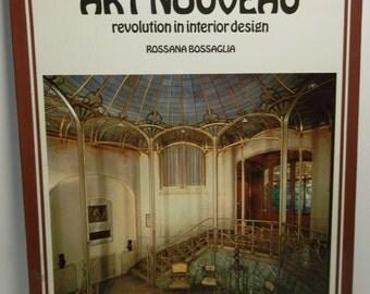 Art nouveau; revolution in interior design Board book – 1973