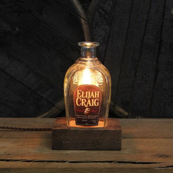 Elijah Craig Barrel Proof Lamp Gift For Husband, Guy Gift, Gift For Boyfriend, Valentine's Present For Him, Valentine's Day Present