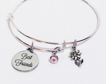 Best Friend Bracelet, Best Friend Gift, Best Friend, Best Friend Birthday Gift, BFF Gifts, BFF Bracelet, Friendship Bracelet, Friends