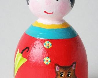 Wooden figure tabis