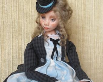 """OOAK art Doll """"Valeri"""""""