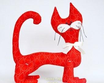 Cute Cotton Stuffed Cat/ Cat Stuffed Animal/ Cat Stuffed Toy/ Cat Stuffed Animals and Plshies/Cat Doll for Kids