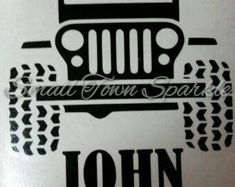 Jeep Yeti Decal