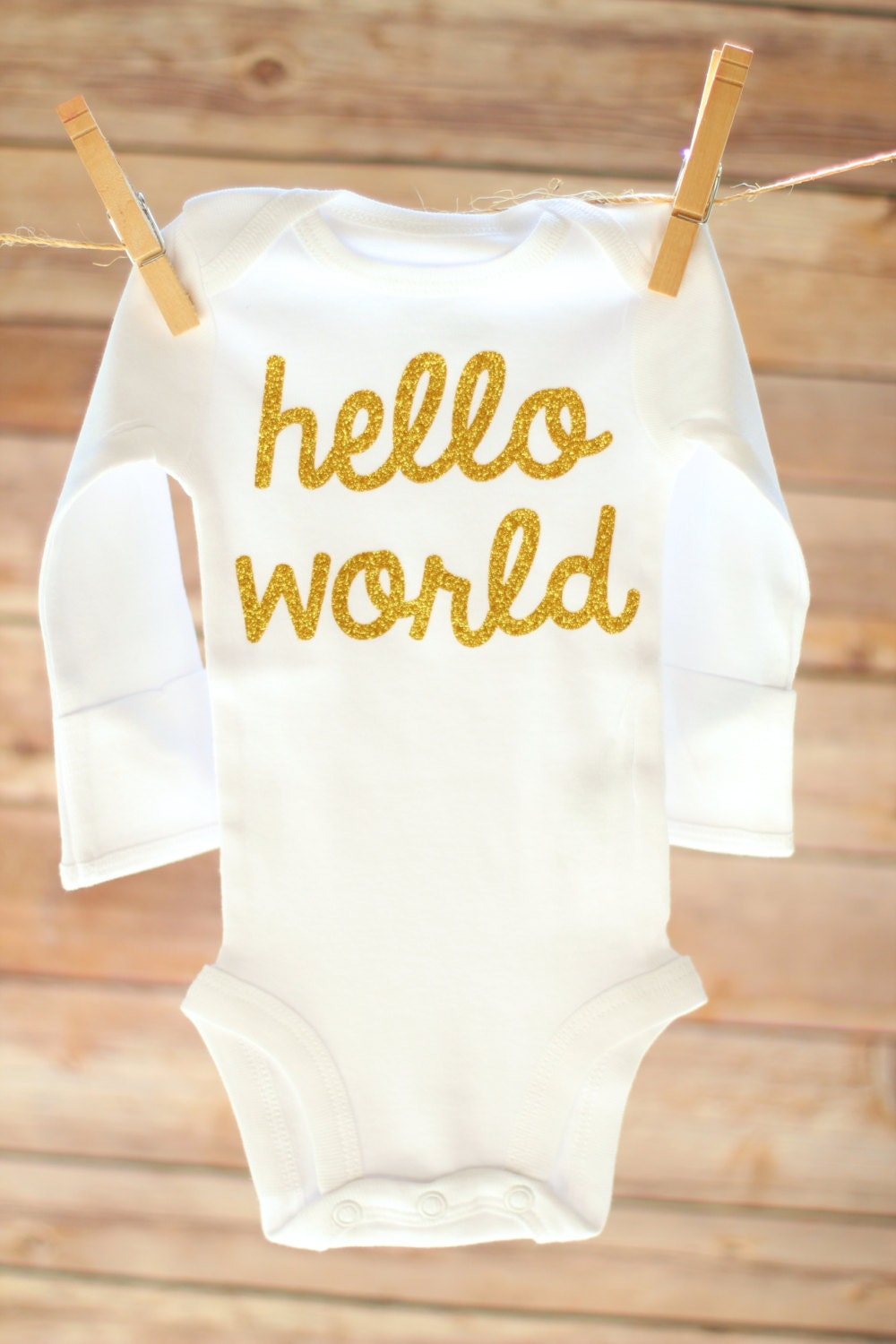Hello World Hello World Outfit Baby Girl Coming Home Outfit