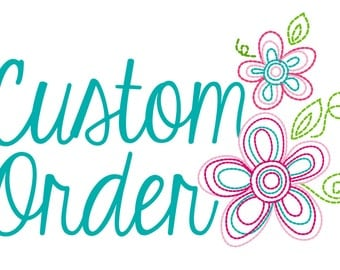 Custom Embroidery Design