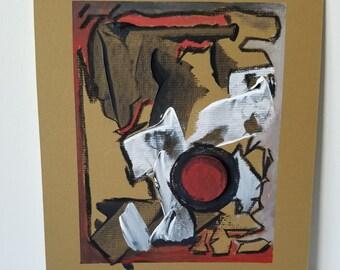 "Mixed Media Painting ""Layers 2"""