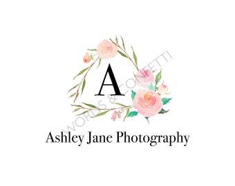 Logo Design Custom, Photography Logo Instant Download, Business Logo Design, Wedding Photography Logo, Initial Logo, Premade Logo Boutique