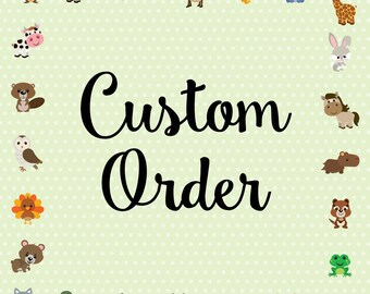 Custom Clip Art Order