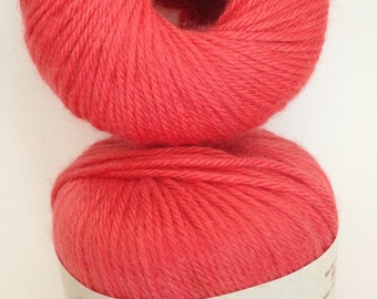 Patons Angora Bamboo Yarn, Color: Scarlet, Material-- Bamboo,  Wool,  Angora,   Worsted Weight