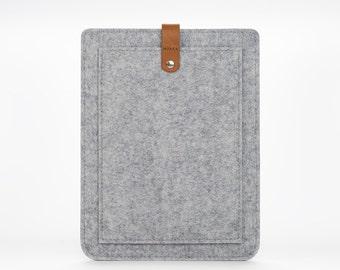 MacBook Air Case - MacBook Air Sleeve - MacBook Case - Macbook Air 11 Cover – Leather Case – Felt Cover