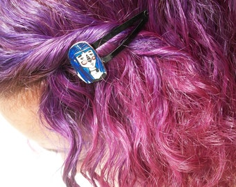 Ghost and Girl Hair Clip/pin