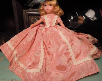 Vintage Nancy Ann Storybook Bisque Doll / Vintage Collectible 1940's Doll / Nancy Ann Story Book Doll #189 / A Breezy Girl for March