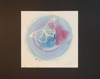Wall Art - Butterfly Mixed Media