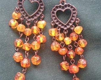 Antique Earrings,Russian Style