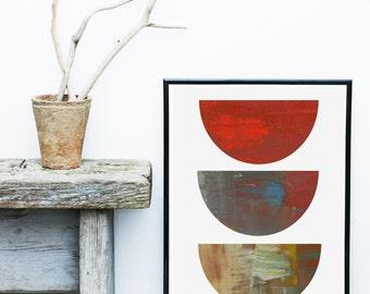 Abstract Art Print, Scandinavian Art, Art Print, Mid Century Modern, Minimalist Poster,  Giclee print, Wall Art,  Poster, Wall Decor