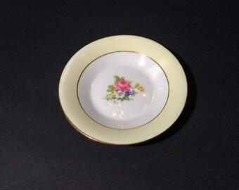 Rosina Bone China Miniature Plate, Made in England, 4 1/4 inch