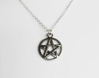 Pentagram Chain Necklace