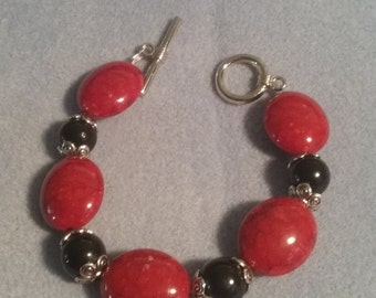 Red and Black Bracelet