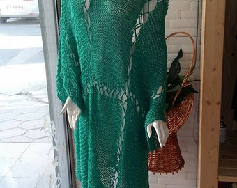 dress knitting handmade