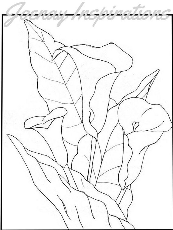Adult Coloring Book, Printable Coloring Pages, Coloring Pages, Coloring Book for Adults, Instant Download, Fancy Flowers 1 page 13