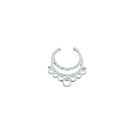 Faux septum ring, Fake septum ring, Faux nose ring, non pierced septum, Vagabond Soul Faux Septum Ring