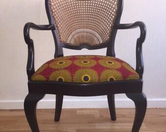 Chair Louis XV WAX VLISCO