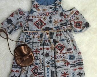 My Wanderlust Co. <<>>  Megan Aztec Dress