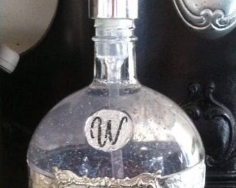 Liquor Decanter hand soap bottles