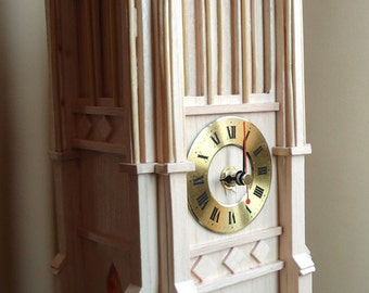 Mantle Clock, Somerset Medieval Church Tower