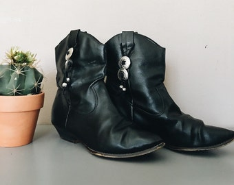 Desert western cowboy leather