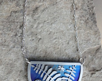 Spring Ferns Necklace