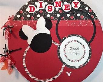Disney Theme Scrapbook Premade and Complete Just add Pics