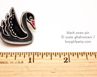 enamel pin metal pins black swan pin goth pins goth enamel pin occult pins goth lapel pin gothic pins goth girl gifts gothic gifts