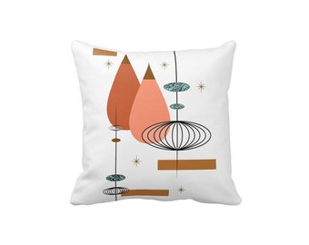 """Rondure Toss Pillow in either 16""""x16"""" or 20""""x20"""" Polyester or Cotton Your Choice with Free Shipping"""