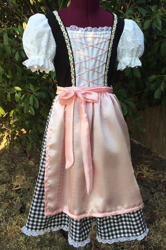 Made to order Dirndl girls 10-14