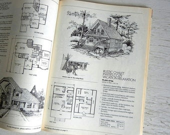 1989 Home Plans Magazine | Custom Homes Plans | 1980s Architecture Furniture Advertising Interior Design