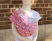 Limited Edition- Doll Sling Baby Doll Carrier Kid Toy Pouch Sling -  Holly Fox - FAST SHIPPING